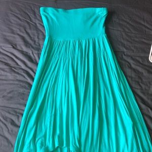 Express strapless dress, size small
